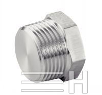 Hexagon Head Male Plug, Inconel 601