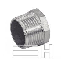 Hexagon Head Male Plug (Casting), Inconel 601