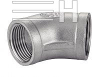 Female / Female 45° Elbow, Inconel 601