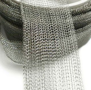 Hastelloy Alloy C276 Knitted wire mesh